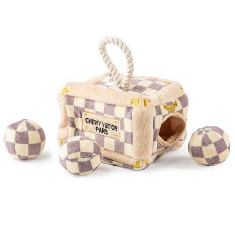 Haute Diggity Dog - Checker Chewy Vuiton Trunk - Activity House
