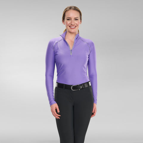 Grace Long Sleeve Zip Top