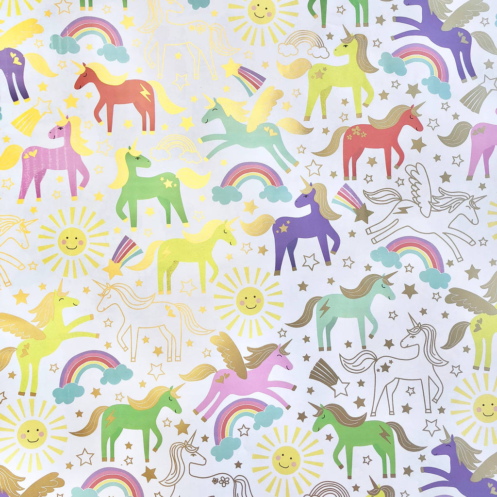 Jillson & Roberts - Unicorn Wrap - Roll