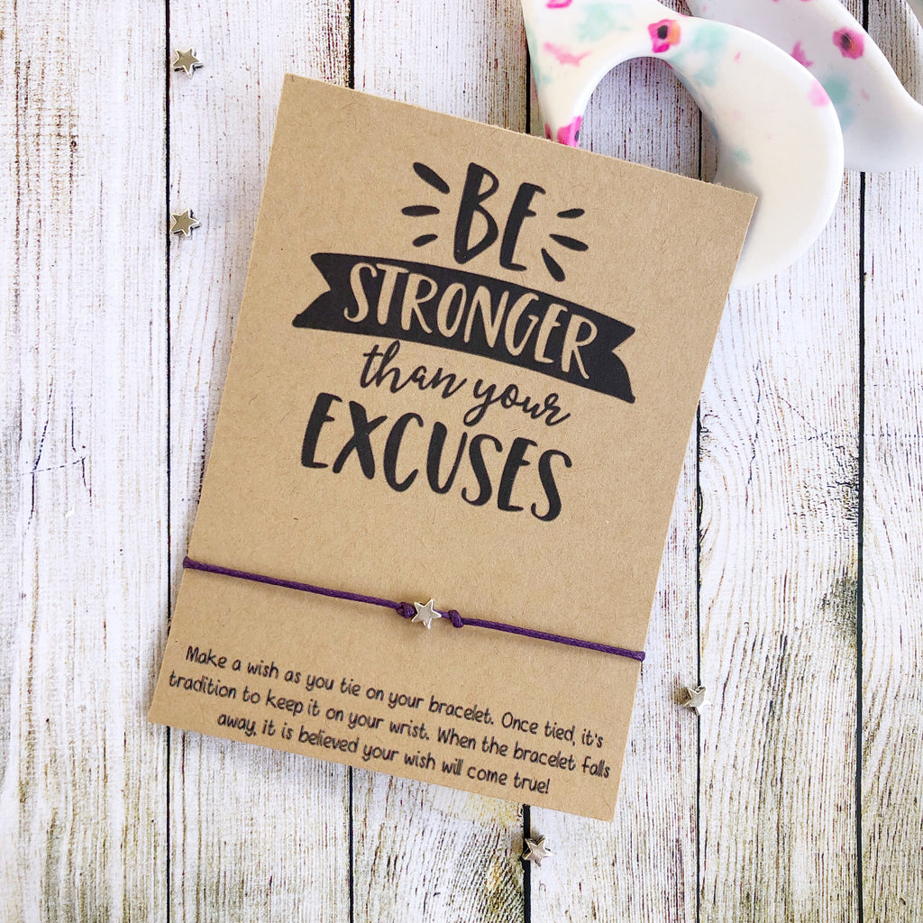 Wishlets - Be Stronger Than Your Excuses
