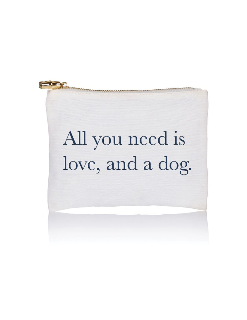 Toss Designs - Love & A Dog Flat Zip