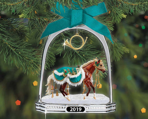 Breyer Minstrel - 2019 Stirrup Ornament