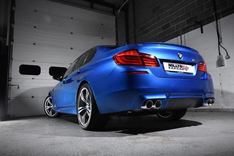 Milltek Sport BMW F10 M5 Twin-Power Turbo V8 Catback