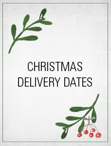 Last online order dates for Christmas