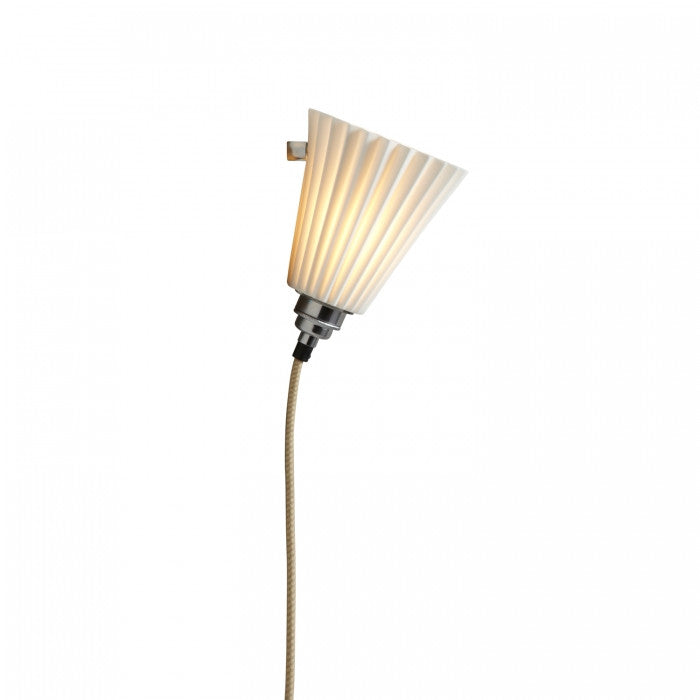 Portable Medium Pleat Wall Light - Original BTC Australia