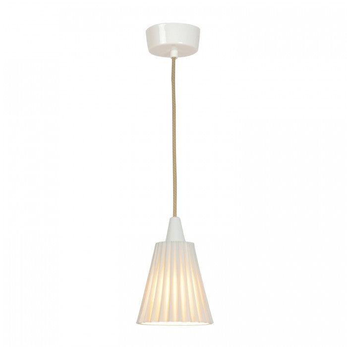 Hector Medium Pleat Pendant Light - Original BTC Australia