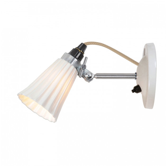 Hector Small Pleat Switched Wall Light - Original BTC Australia