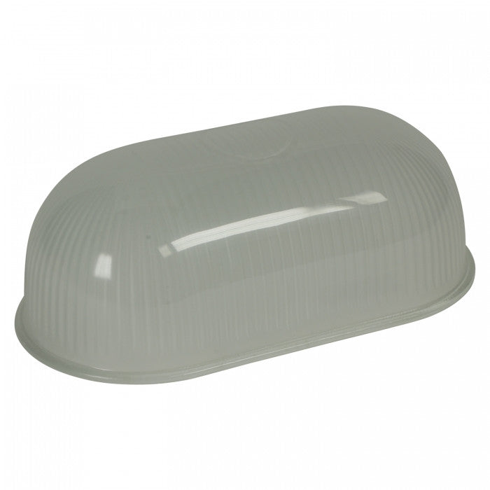 Replacement bulkhead frosted prismatic glass for 7036 & 7436 - Original BTC Australia