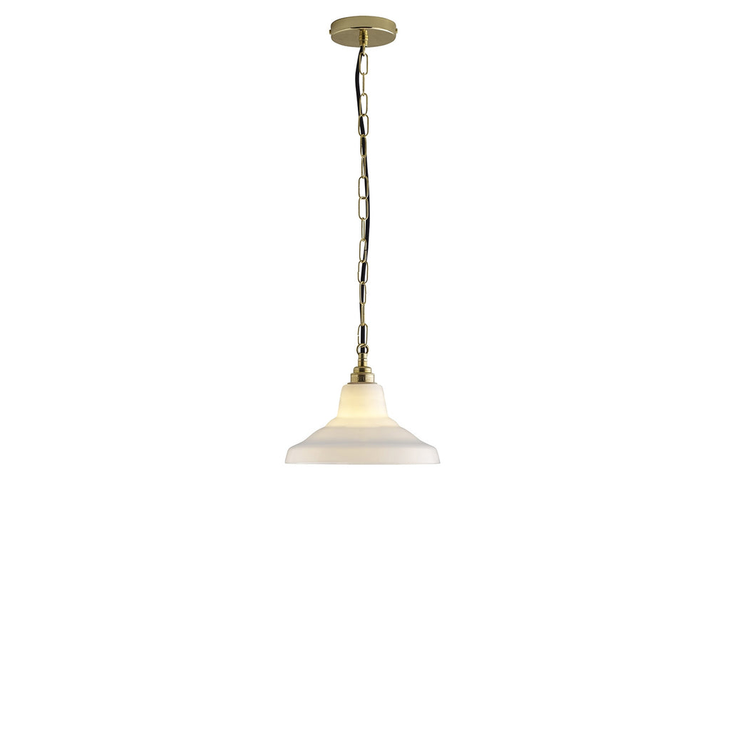 GLASS SCHOOL PENDANT LIGHT, SIZE 1 - Original BTC Australia