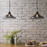 GLASS SCHOOL PENDANT LIGHT, SIZE 2 - Original BTC Australia