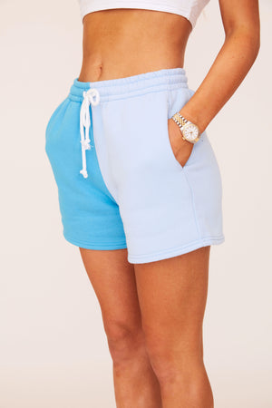 Two Tone Shorts - Blue/Blue