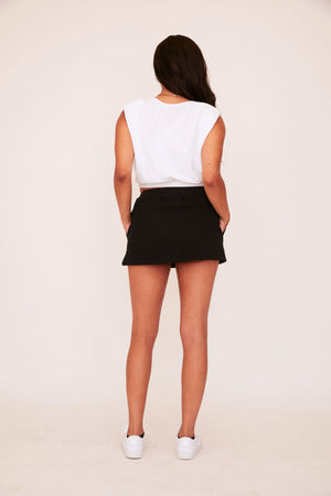 Sweat Skirt - Black
