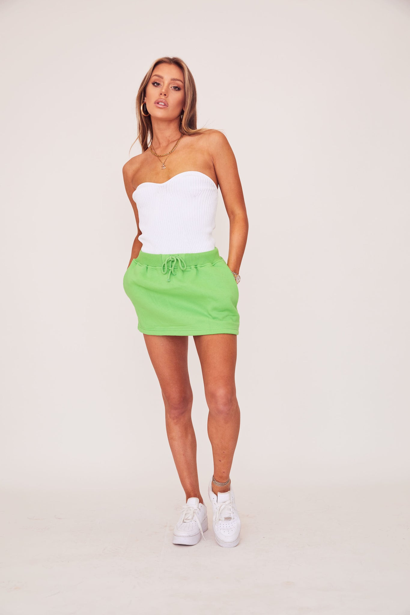 Sweat Skirt - Green