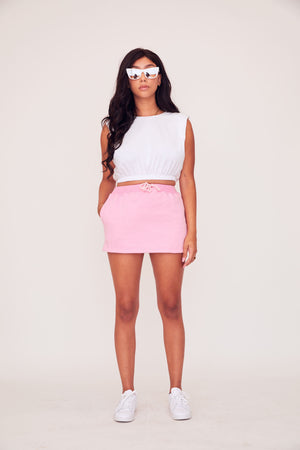 Sweat Skirt - Pink