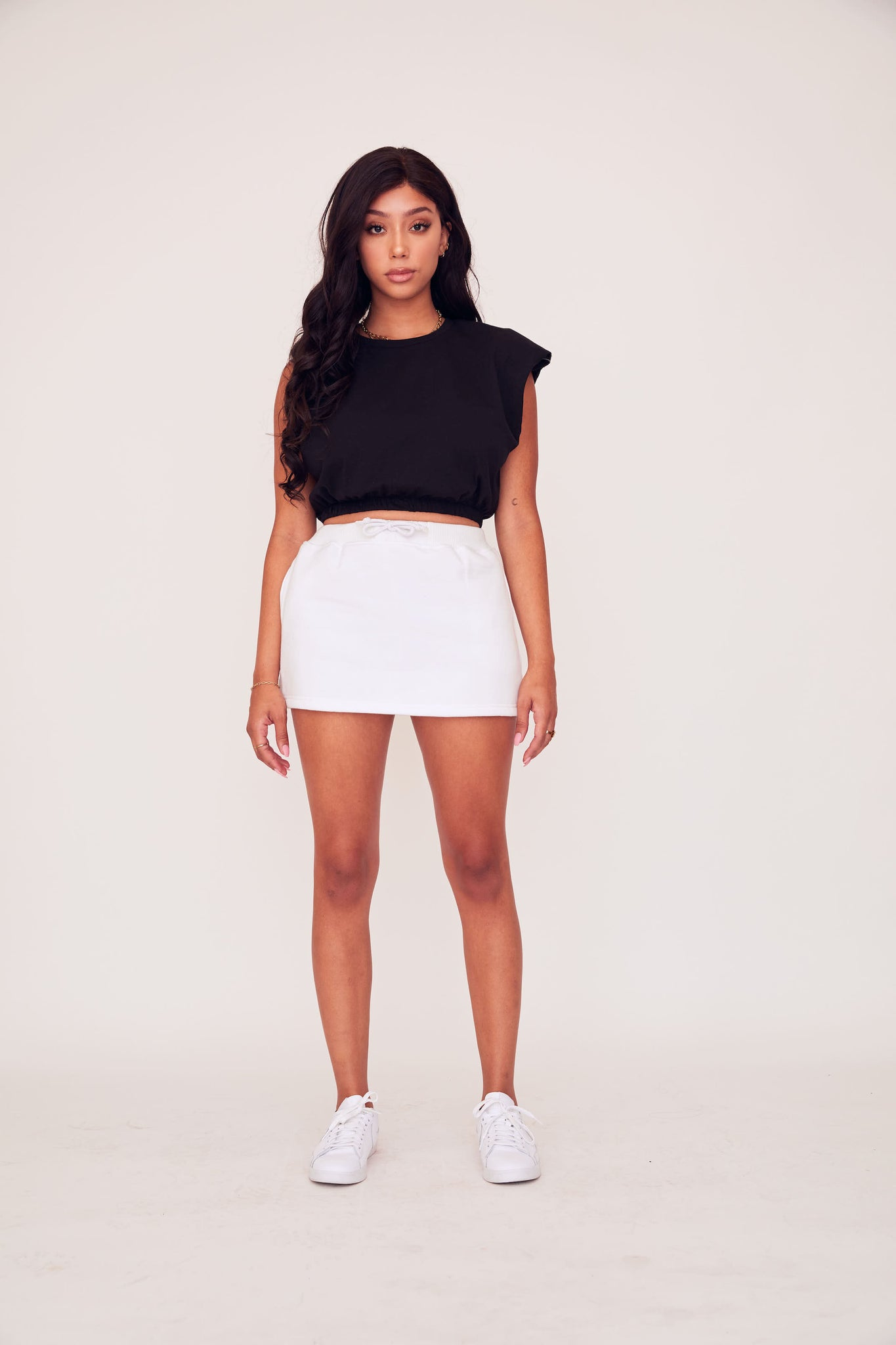 Sweat Skirt - White