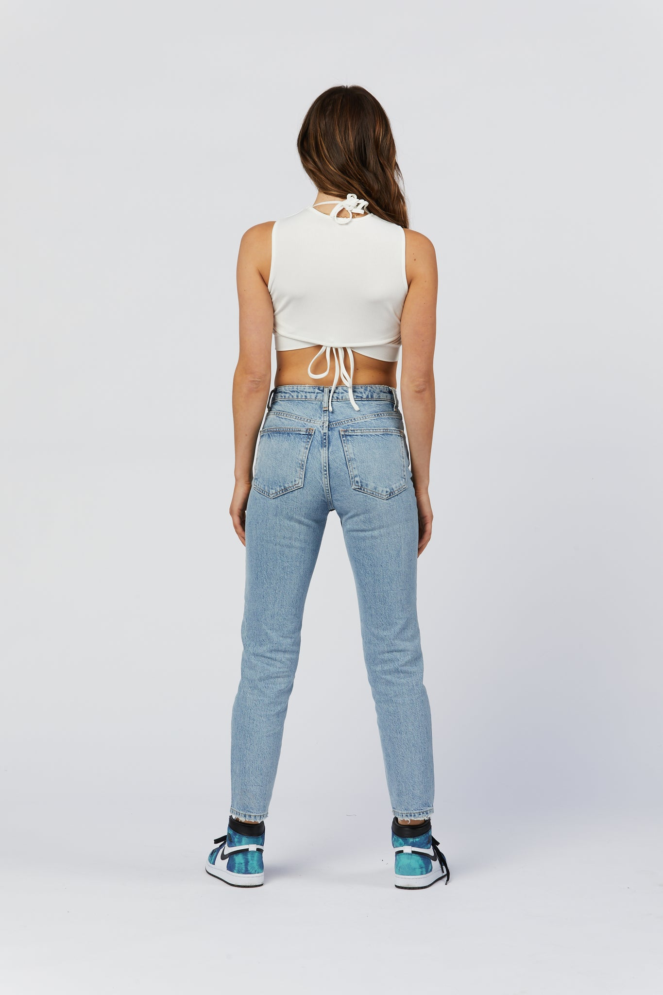 Cutout Top - White