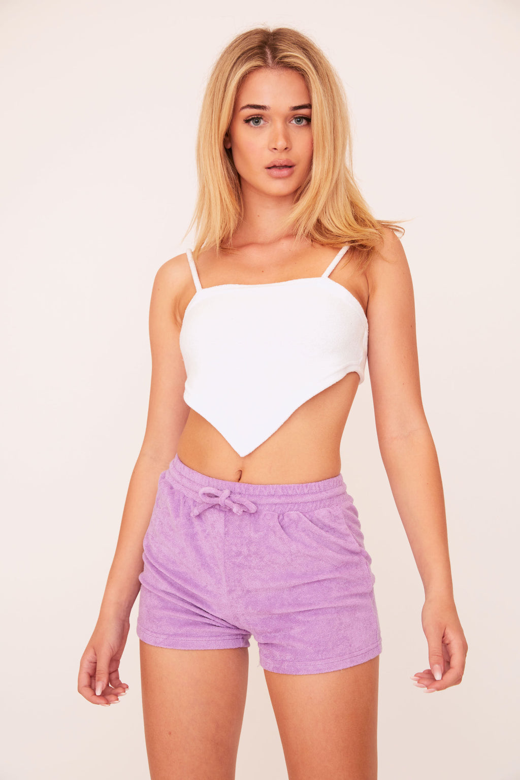 Terry Shorts - Lavender