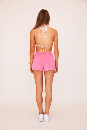 Terry Shorts - Pink