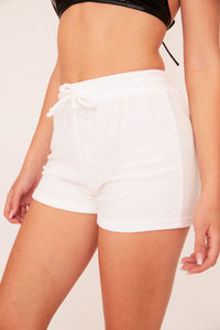 Terry Shorts - White