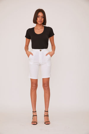 shaci leila blazer short