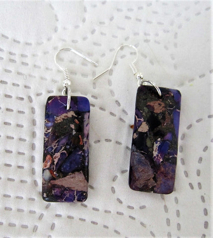 Purple Crush Earrings