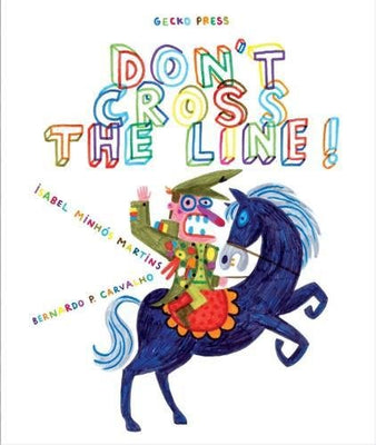 Don't Cross the Line! Paperback 9781776571840