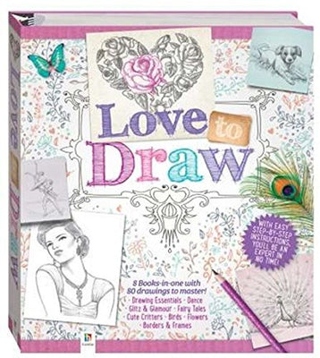 Love to Draw Binder Hardcover