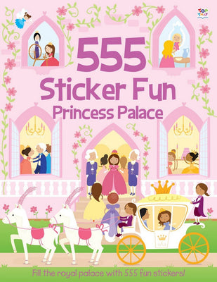 555 Princess Palace (555 Sticker Fun).Topical Books Choose 3 Books pay for 2