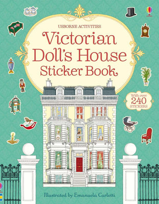 Victorian doll's house sticker book. Topical Books