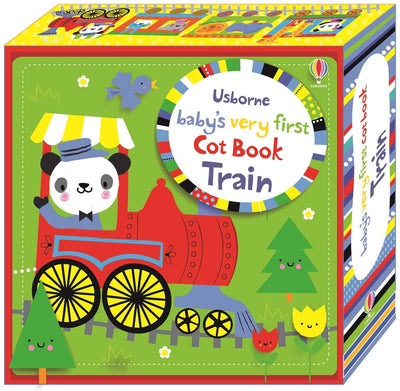 Topical Books. Baby's very first cot book: Train