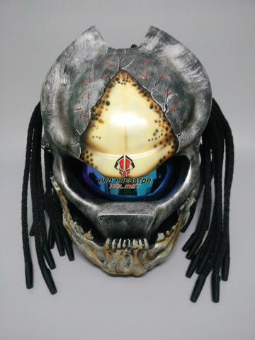 Berserker Custom Predator Motorcycle Dot Approved,ECE Helmet Airbrush