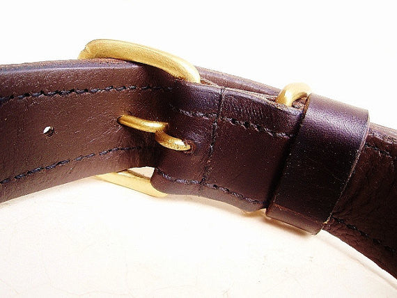 Hand Made Beaded Leather Dog Collar - POKOT BROWN - ShopNowBeforeYouDie.com