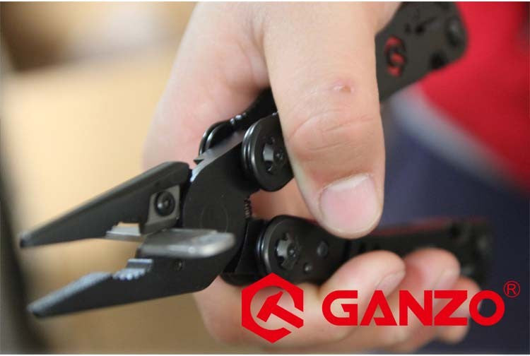Ganzo High Quality Stainless Steel Combination  Folding Multi Pliers camping tool  G302B. - ShopNowBeforeYouDie.com