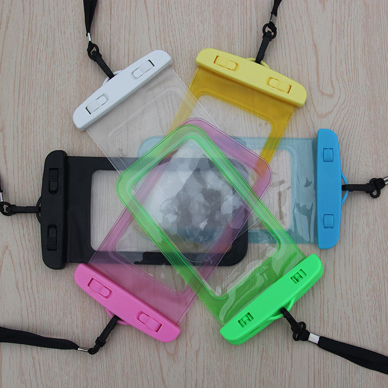 2017 New phone bag underwater waterproof phone bag diving bag mobile phone pouch case for iphone4 4S 5S 6Plus for Samsung Galaxy