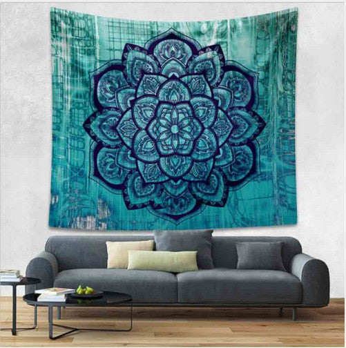 Home Furnishing Bohemian Mandala Tapestry Wall Hanging Sandy Beach Picnic Throw Rug Blanket Camping Tent Travel Sleeping Pad