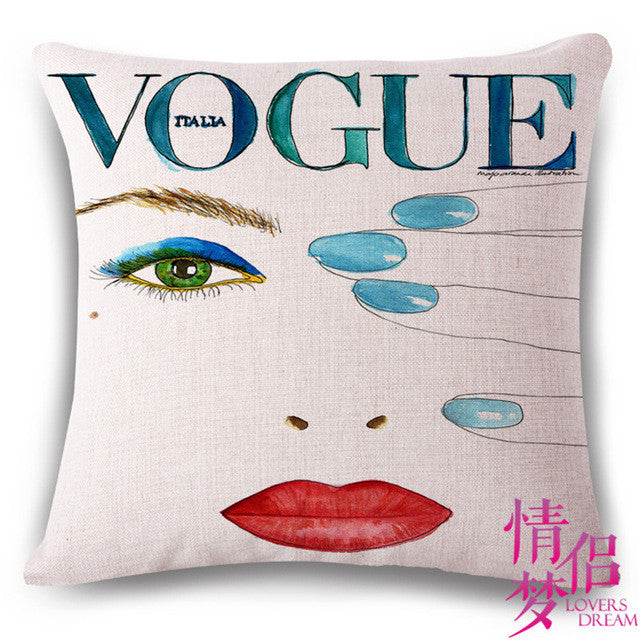 Fashion High Quality Channel  Skirt And Perfume Bottles Home Decor Sofa Seat Decorative Cushion Cover Pillow Case Capa Almofada
