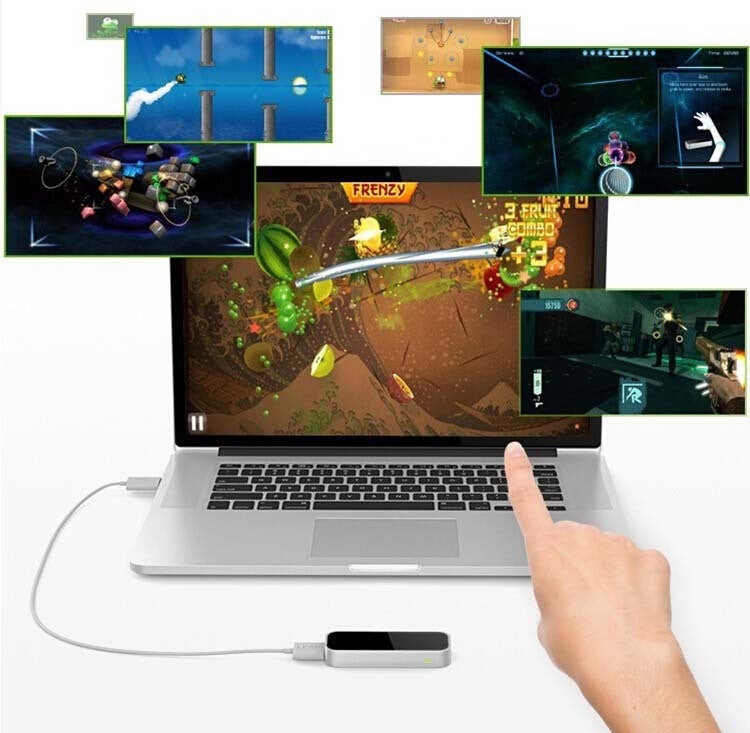 Promotional Original Leap Motion Real 3D interaction Somatosensory Game controller mouse Gesture Motion Control for PC MAC