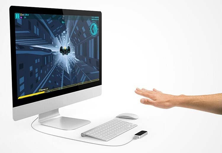 Promotional Original Leap Motion Real 3D interaction Somatosensory Game controller mouse Gesture Motion Control for PC MAC - ShopNowBeforeYouDie.com