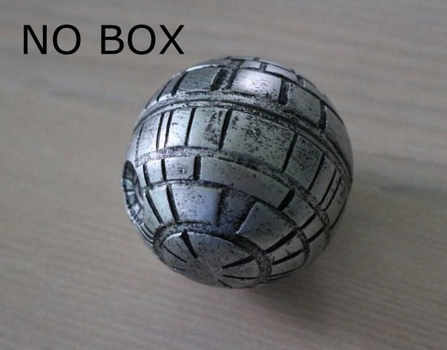 War Death Star Grinder 3 Layers Zinc Alloy Grinder Weed Herb Tobacco Crusher Grinder Cigarettes Accessories Hand Muller