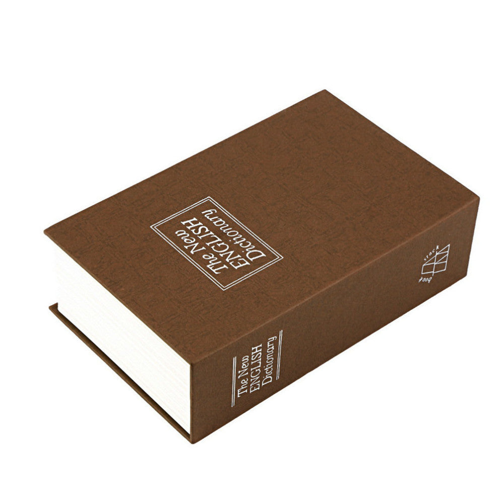 Hot Steel Simulation Dictionary Secret Book Safe  Box - ShopNowBeforeYouDie.com