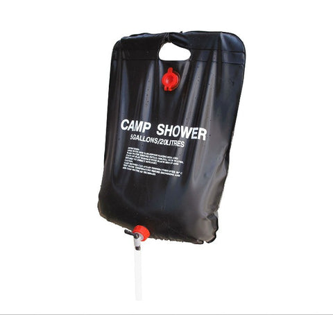 20L Camping or Hiking Solar Heated Camp Shower Bag - ShopNowBeforeYouDie.com