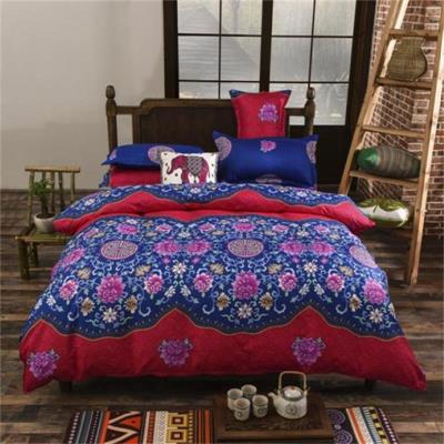 MING JIE New fashion Bohemia style Bedding Set Duvet Cover Bedspread Bed Sheet Pillowcase Full Twin King Queen 4 pieces Sell Hot