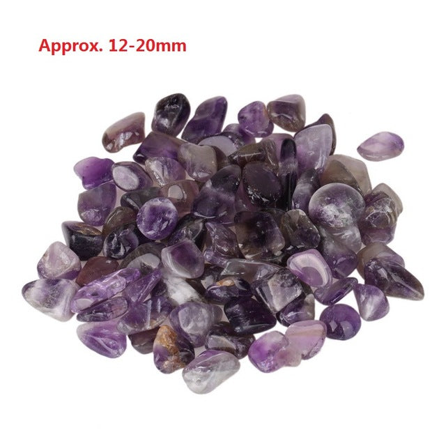 10-40 mm Aquarium Natural Mineral Black Tourmaline/Aventurine/Turquoise/Amethyst Crystal Stone DIY Pendant For Home Decoration