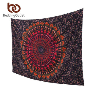 Mandala Boho Indian Tapestry  (Many Colours available) ( 130cmx150cm, 150cmx200cm )