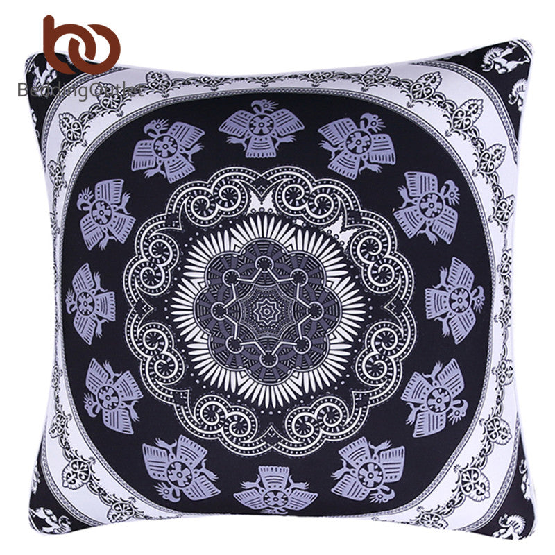 BeddingOutlet 1Pc Vanitas Cushion Cover Bohemia Modern Pillow Protector Indian Boho Pillow Case Soft Cover 45cmx45cm 70cmx70cm
