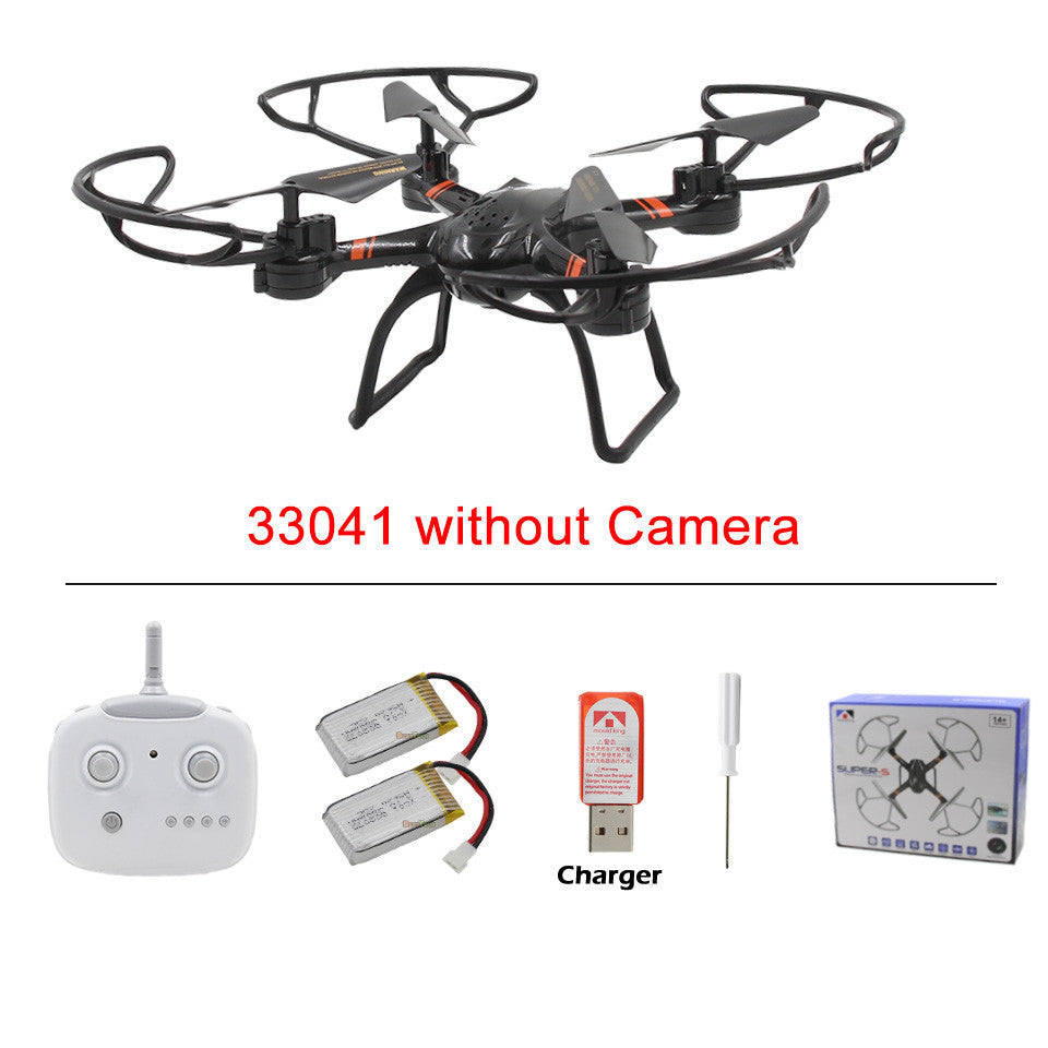SUPER-S RC Drone 33041C with HD Camera Professional 2.4G Remote Control Quadcopter Toy Helicopter Dron  / 33041 without Camera