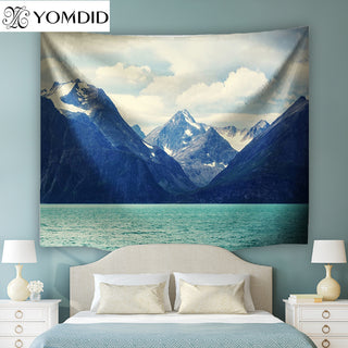 Norway Scenery Wall Tapestry Boho Hanging Tapestries Indian style Bedspread Beach Towel Table Cloth Yoga Mat Blanket