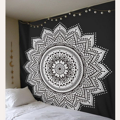 mandala Wallpapers Psicodelicos wall blanket Thousands hands Buddha statues polyester fondos de pantalla psicodelicos tapestry