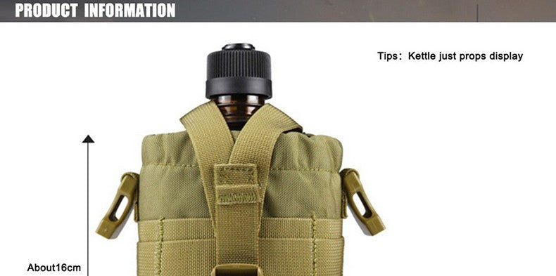 free soldier outdoor military water bottle with bag pouch tactical