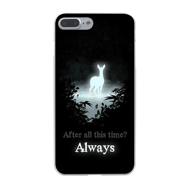 Harry Potter Slytherin School Crest Hard Phone Cover Case for Apple iPhone 7 7 Plus 6 6s Plus 5 5S SE 5C 4 4S Coque Shell